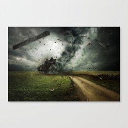 Cyclone-tornado Canvas Print