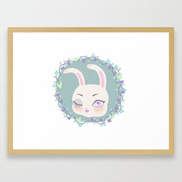Conejita Framed Art Print