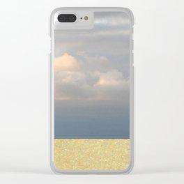 landscape 003: sandstorm Clear iPhone Case