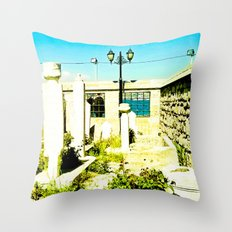 A very sacred place. Throw Pillow