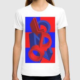 London in 3D T-shirt