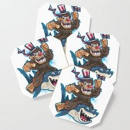 Bigfoot Shark July 4th Coaster