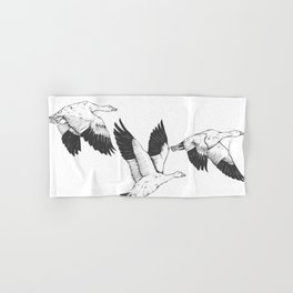 Snow Geese Hand & Bath Towel
