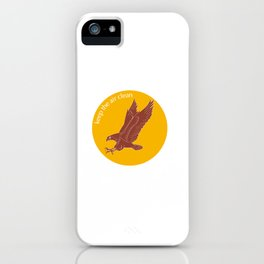Keep the Air Clean_01 iPhone Case