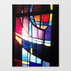 Stained Beauty Canvas Print