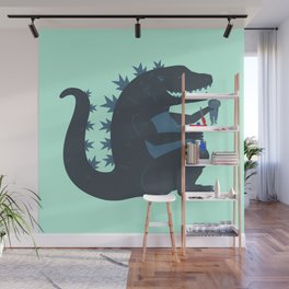 Let's be best friends forever! - Godzilla Wall Mural