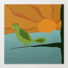 Geo Bird Canvas Print