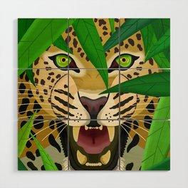 Leopard Wood Wall Art
