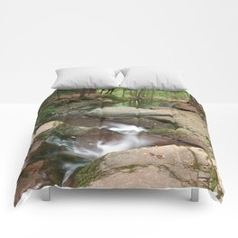 Worlds End Forest Stream Comforters