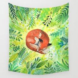 Nature's Heart Wall Tapestry