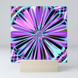 Rotating in Circles Series 07 Mini Art Print