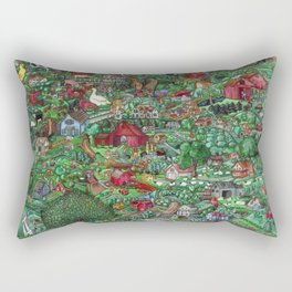 The Farm Rectangular Pillow