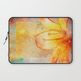 Fire Lily Laptop Sleeve