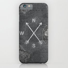 Compass (Map) iPhone Case
