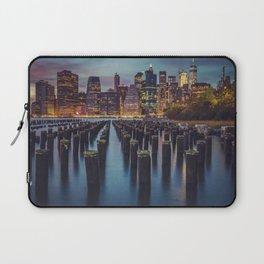 Brooklyn Blue Hour, New York City Laptop Sleeve