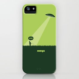 WTF? Ovni! iPhone Case