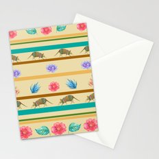 Armadillo Pattern Stationery Cards