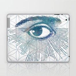 Mandala Vision Flower of Life Laptop & iPad Skin