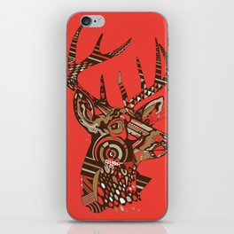 ROAD KILL ~ RED iPhone Skin