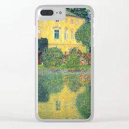 "Gustav Klimt ""Schloss Kammer on the Attersee IV"" Clear iPhone Case"