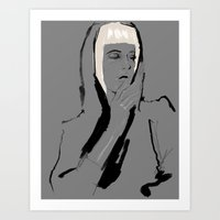 musa Art Prints featuring Musa de Platino by RobGiordano4