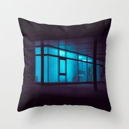 Fish tank / Bladerunner Vibes Throw Pillow