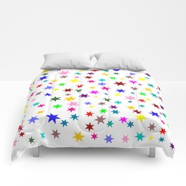 Colorful stars Comforters