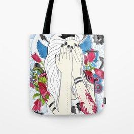 never hide Tote Bag