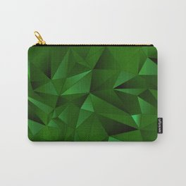 Rough Gems ~ Emerald Carry-All Pouch