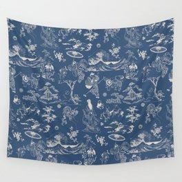 Hokusai - Big Wave of Kinagawa Wall Tapestry