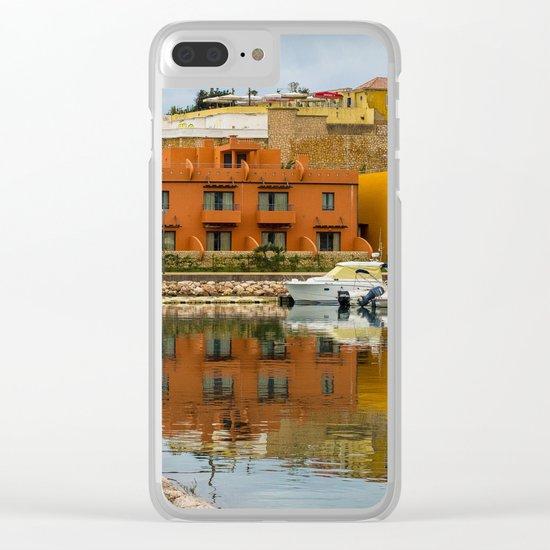 Portimao Portugal Clear iPhone Case