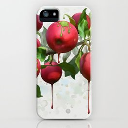 Melting Apples iPhone Case