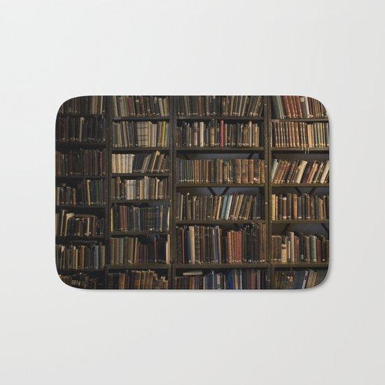 Library books Bath Mat