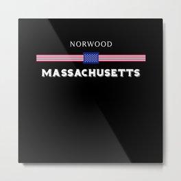 Norwood Massachusetts Metal Print