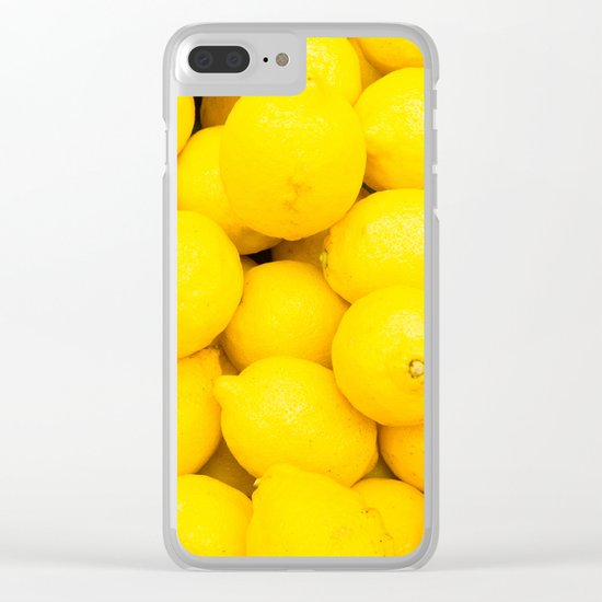 lemons Clear iPhone Case