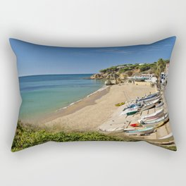 Olhos d'Agua village, Portugal Rectangular Pillow