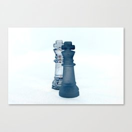 Chess Pieces III Canvas Print