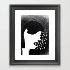 Knight Rising Inverted  Framed Art Print