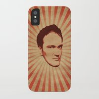 quentin tarantino iPhone & iPod Cases featuring Tarantino by Durro