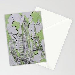 The World Traveler Stationery Cards