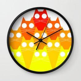 Cats Mountan Wall Clock