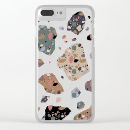 Terrazzo On Terrazzo Clear iPhone Case