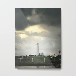 Lions Lighthouse ~ Stand By Metal Print