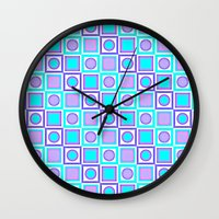 depeche mode Wall Clocks featuring Mode by Julscela