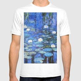 waterlilies a la Monet T-shirt