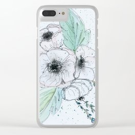Anemone 2 Clear iPhone Case