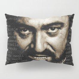 Luciano Pavarotti Opera Music Lover Pillow Sham