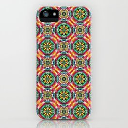 Native American Fashion Pattern Six iPhone Case