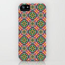 Native American Fashion Pattern Six iPhone Case