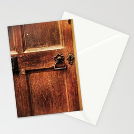 At the church door Stationery Cards